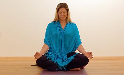 yogi doing meditation