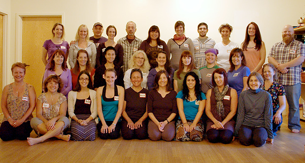 Whole Life Yoga teacher training class 2012 - 2013