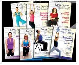 Larry Payne Yoga DVDs
